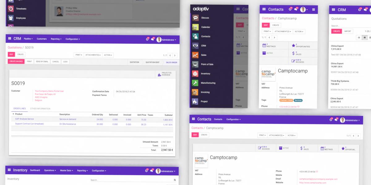 Adaptiv Backend Theme | Odoo Apps